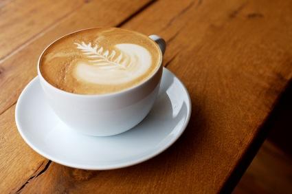 caffe latte kcal