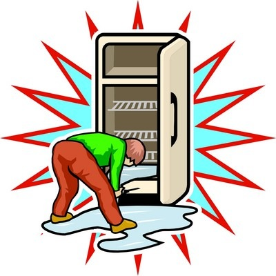 how to get smell out of fridge freezer