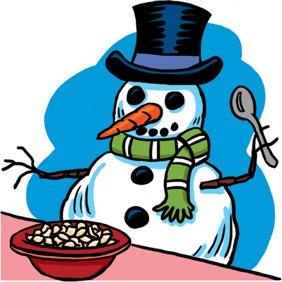 Image result for snowman cereal