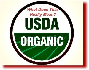 USDA organic means what?