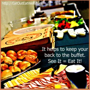 buffet table-graphic