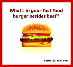 what's in your burger