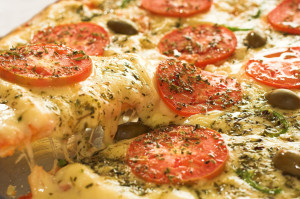 pizza, mouth watering pizza