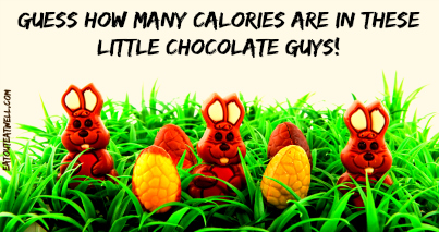 chocolate bunnies and eggs