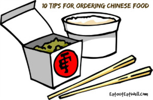 Chinese takeout food