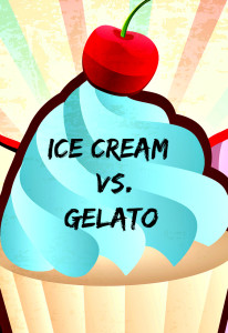 ice cream and gelato