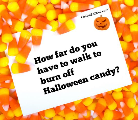 Walking off Halloween calories