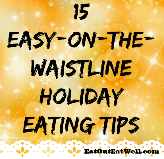 holiday eating waistline tips