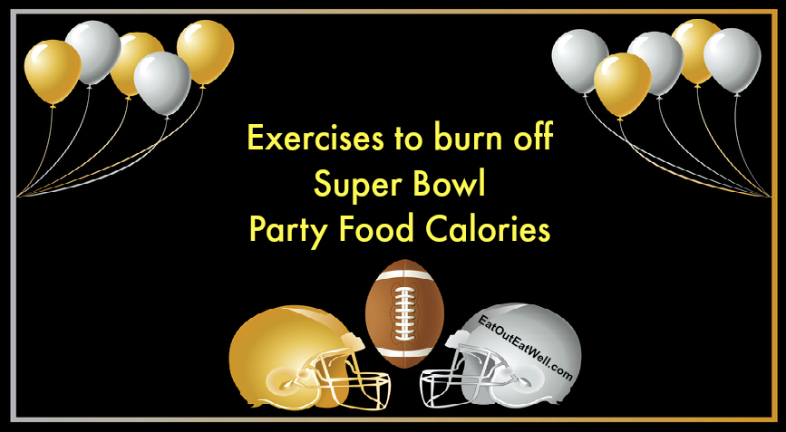 Exercises to burn off Super Bowl calories